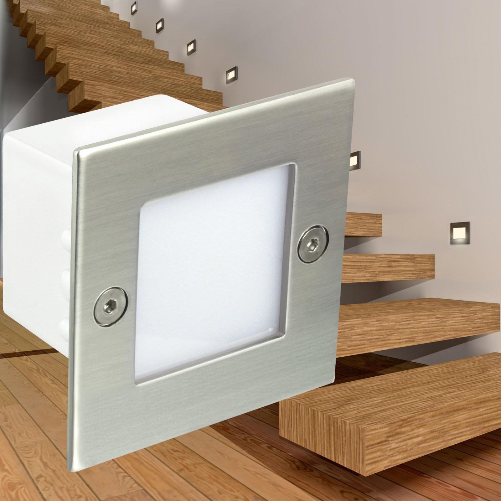 led wandeinbauleuchte boden treppenleuchte innen und au en. Black Bedroom Furniture Sets. Home Design Ideas