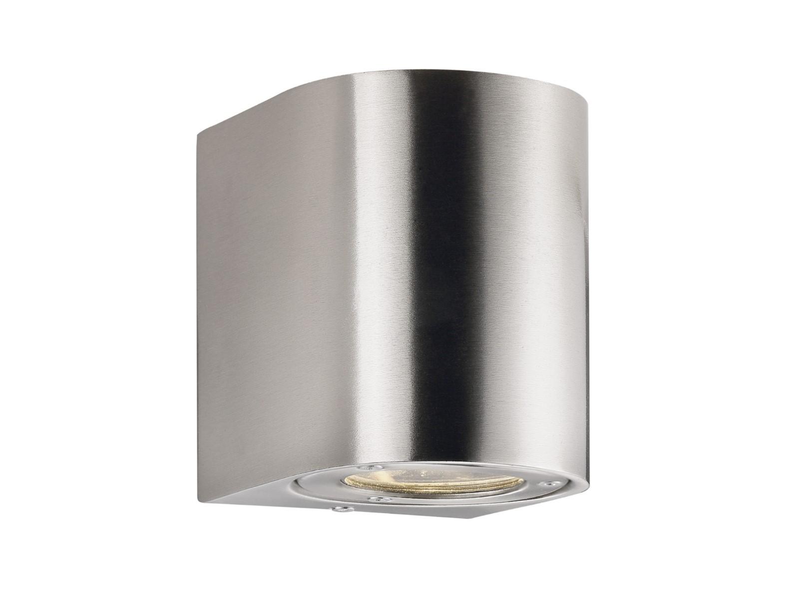 led au enleuchte wandleuchte edelstahl up amp downlight led wandleuchte lampe leuchte. Black Bedroom Furniture Sets. Home Design Ideas