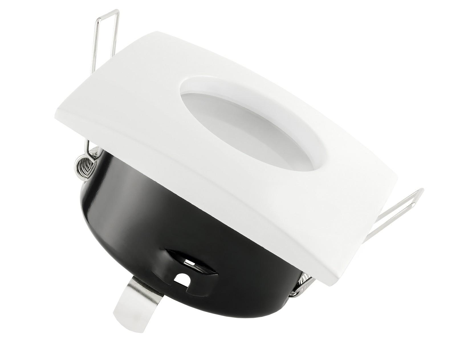 qw 1 led einbaustrahler weiss bad dusche feuchtraum ip65 4 3w warmwei dimmbar gu10 master. Black Bedroom Furniture Sets. Home Design Ideas