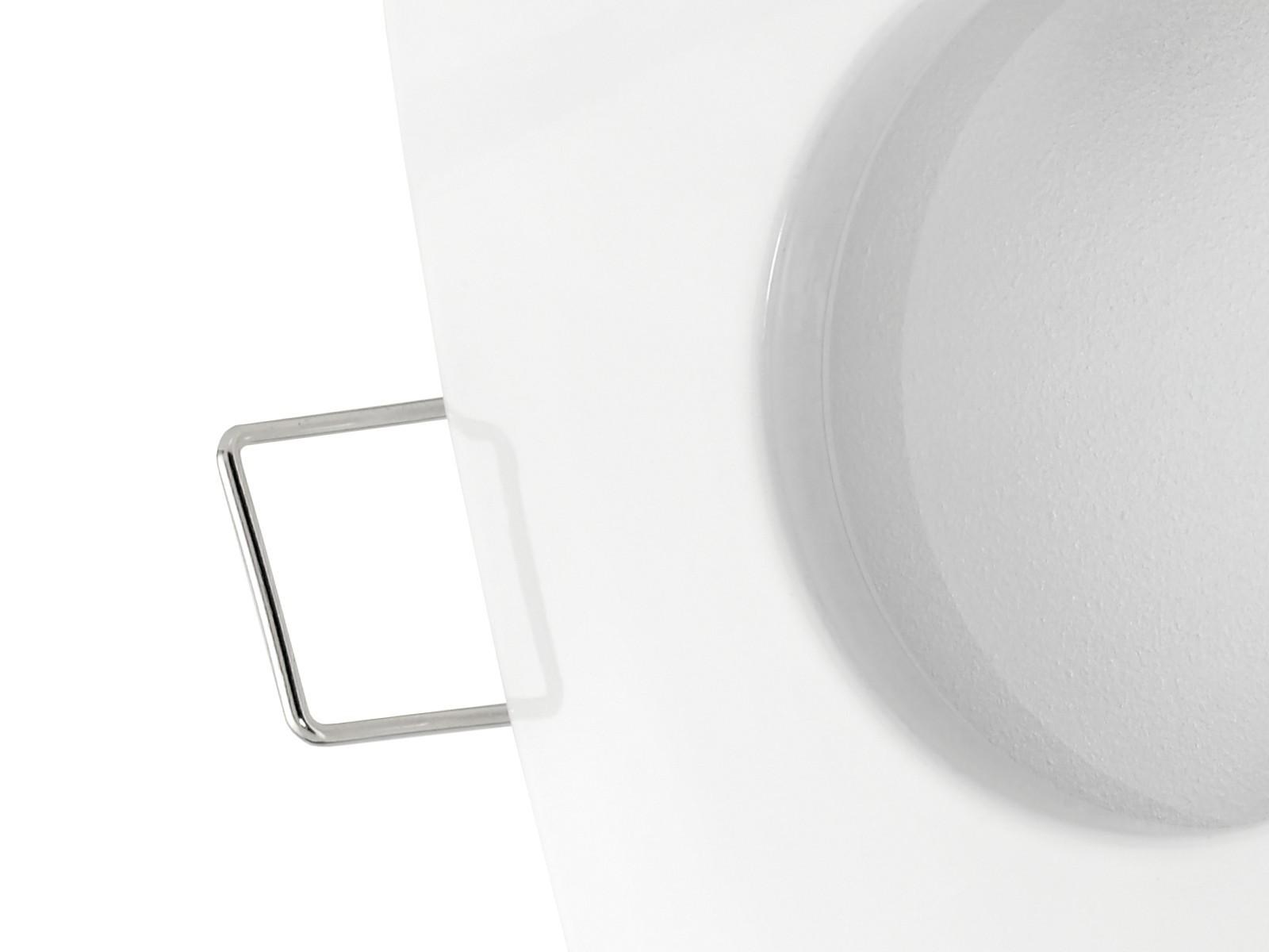 QW-1 LED-Einbaustrahler weiss, Bad Dusche Feuchtraum, IP65, 4,6W ...