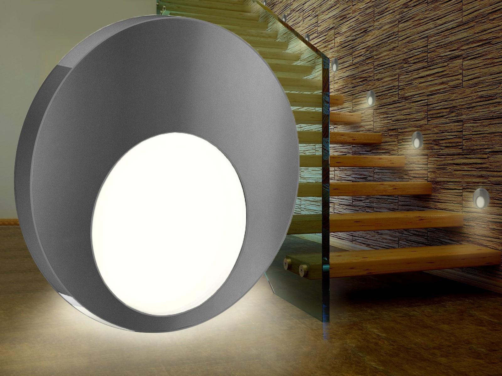 treppen einbaustrahler led glas pendelleuchte modern. Black Bedroom Furniture Sets. Home Design Ideas